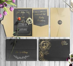 invitations with envelope