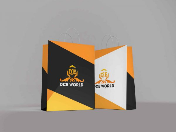 A2 Branded Paper Bags