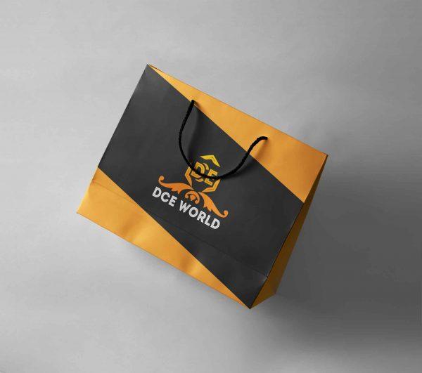 Landscape A2 Branded Paper Bags