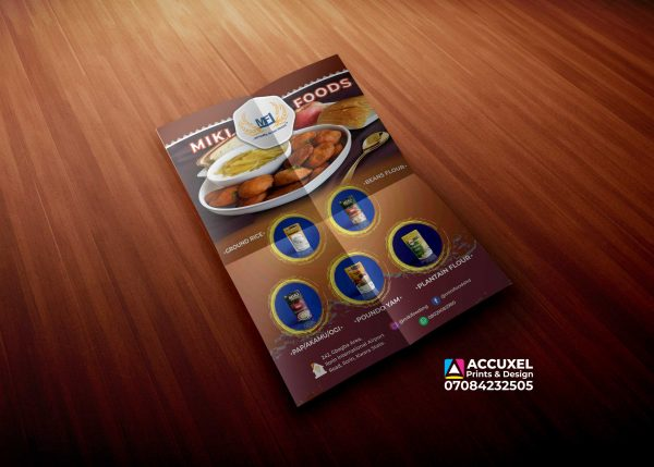A5 flyer-Design & Printing Double Sided