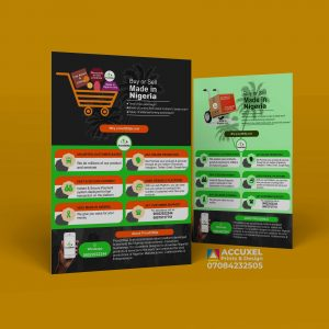Double-Sided A5 flyer Design & Printing