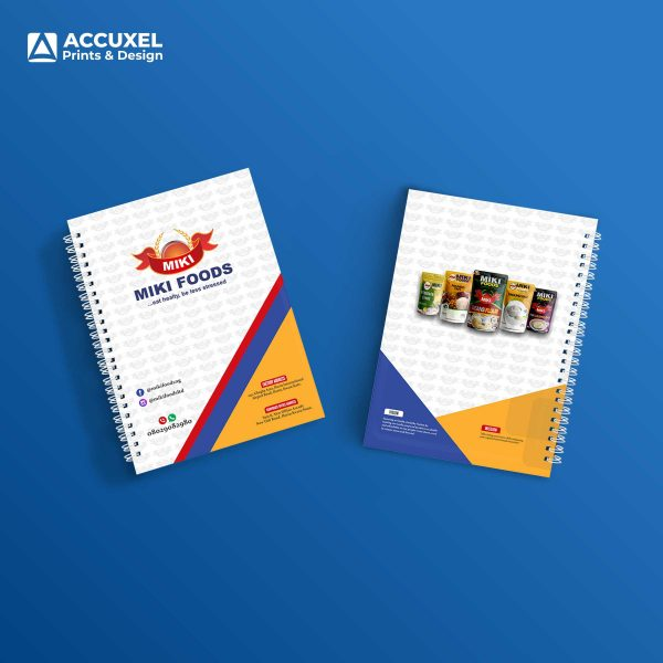Personalized A4 Notepads for miki foods