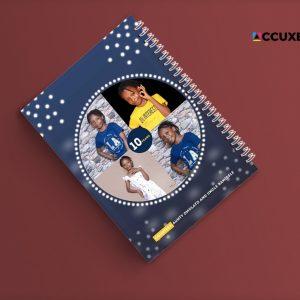 birthday jotter cover design