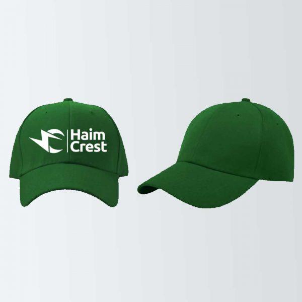 branded face cap printing