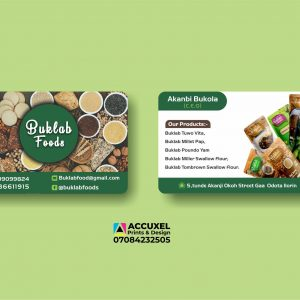 double sided business cards design and printing