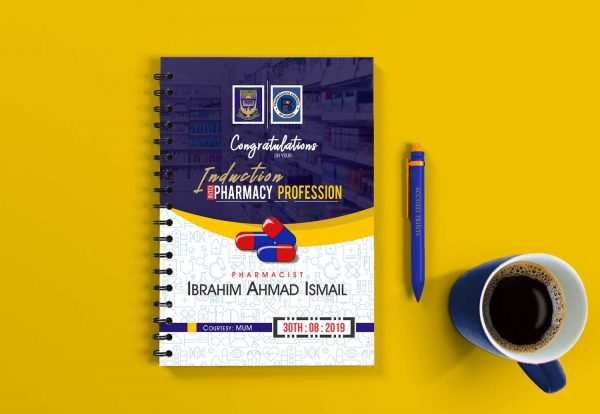 induction jotter design and printing front