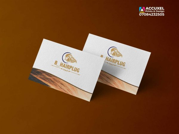 one sided Business cards printing and design