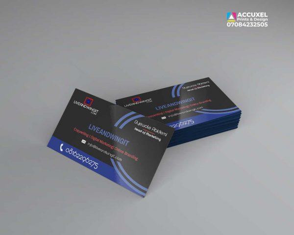 one sided complimentarycarddesign