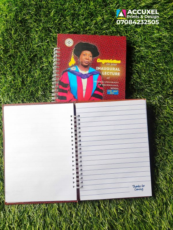 strong cover jotter inner design and printing